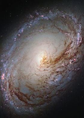 Messier 96 Spiral Galaxy