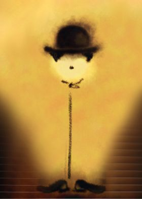 A digital Illustration of Charlie Chaplin's little flow ...