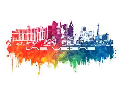 Las Vegas skyline city