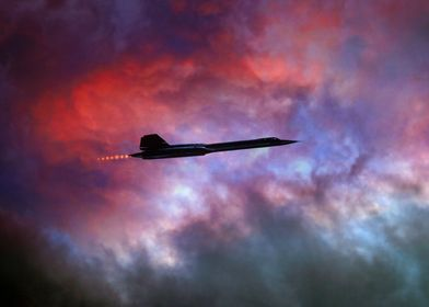 The legendary SR71 Blackbird