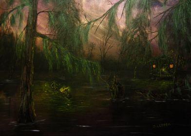 """Swamp La Vie: Scouting in Twilight"" by Jack Lepper"