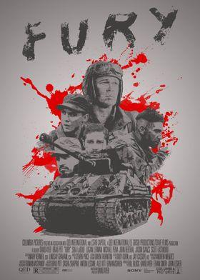 Fury - Alternative Movie Poster