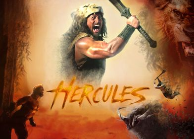 Cinematic Poster for Dwayne The Rock Johnson's Hercules ...