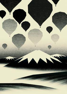 Morning wind balloons