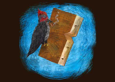 ''Bookpecker'' artwork for booklovers...