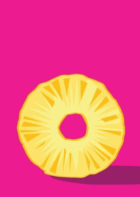 Pineapple in vector format.