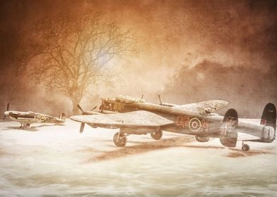Lancaster in the Snow