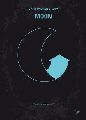 No053 My Moon 2009 minimal movie poster Astronaut Sam ...