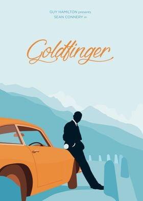One of my illustrations based on the original Goldfinge ...