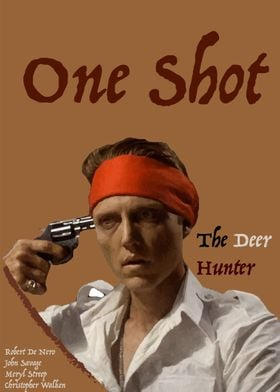 First Poster I made, based on the film The Deer Hunter. ...
