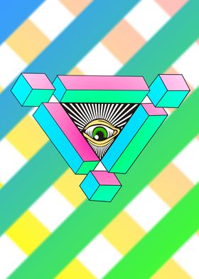 The all seeing eye sees all.