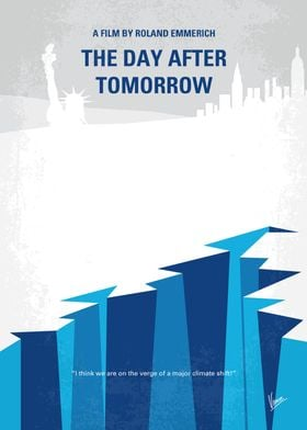 No651 My The Day After Tomorrow minimal movie poster J ...