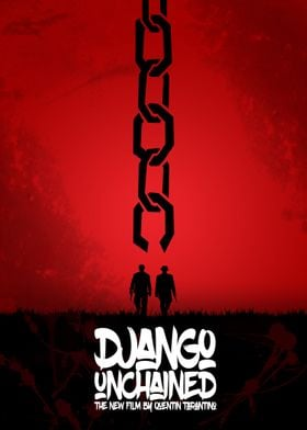 Django Unchained - Minimal Movie Poster. A Film by Quen ...