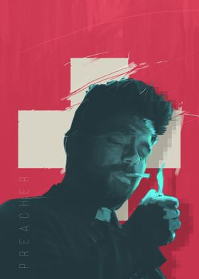 Preacher series - alternative poster