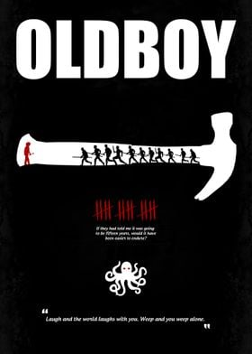 Oldboy - Minimal Movie Poster. A Film by Chan-wook Park ...