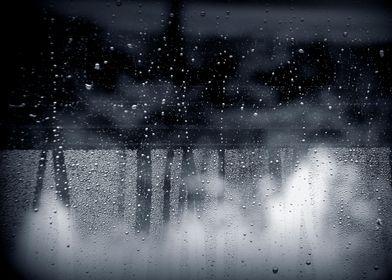 rain abstract
