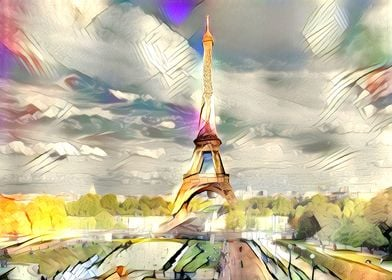 An Artificial Neural Network's view of the Eiffel Tower ...