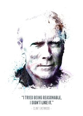 Clint Eastwood and his quote