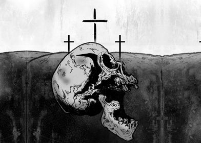 And when they came to a place called Golgotha (which me ...