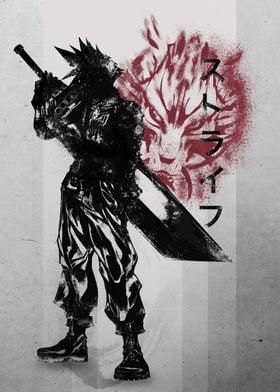 Crimson Ex-soldier