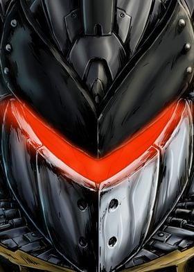 El Hombre Alacran Color close-up from comic.