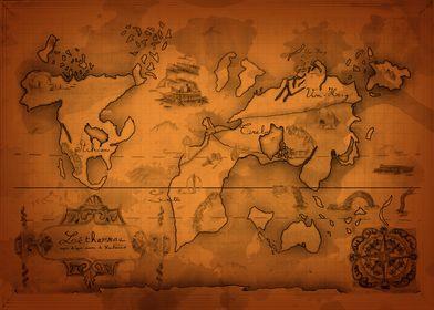 Carte originale de Letherrae