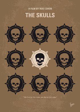 No662 My The Skulls minimal movie poster Luke McNamara ...