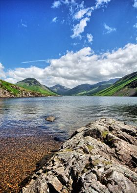 Wastwater in the Lake District National Park, Cumbria
