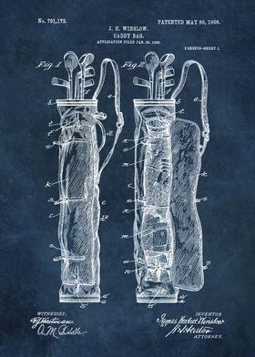 Winslow Caddy bag patent a