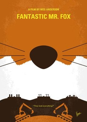No673 My Fantastic Mr Fox minimal movie poster An urba ...