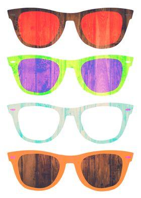 Minimal Glasses Artwork