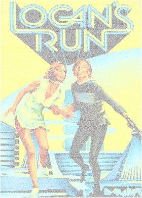 Logan's Run. A typographic poster for Logan's Run. Crea ...