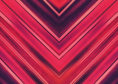 Abstract Stripes Red Black  Modern and colorful red / ...