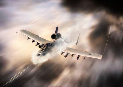 The legendary A-10 Thunderbolt II