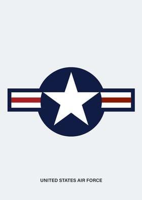 Simple United states roundel.