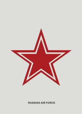 Simple Russian Air Force roundel.