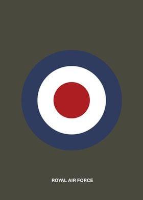 Simple Royal Air Force roundel.
