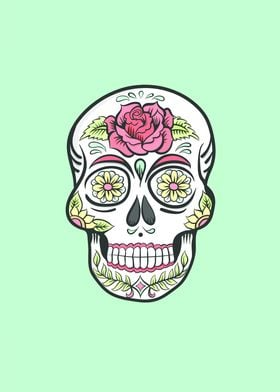 Skull illustration inspired by Cubanisto and fully draw ...