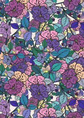 A floral design!