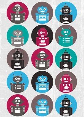 A fun robot pattern :)