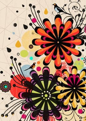An abstract floral composition :)