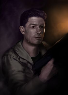 Kane (John Hurt). Painted in several hours on Photoshop ...