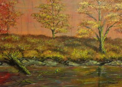 """Autumn Creek: Untouched by Urban Man"" (Scene 2) by Jac ..."