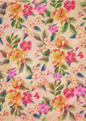 Golden Flitch (Digital Vintage Retro / Glitched Pastel ...