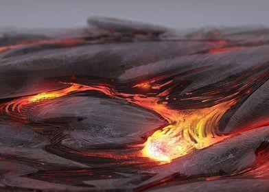Lava Illustration