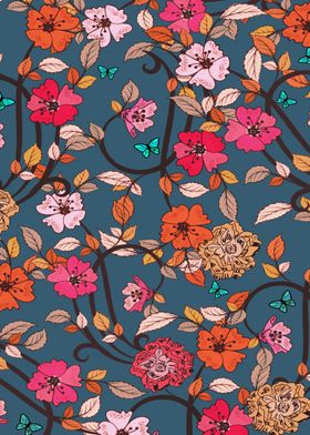 A lovely floral pattern :)