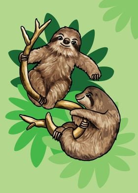 Pair of Sloths