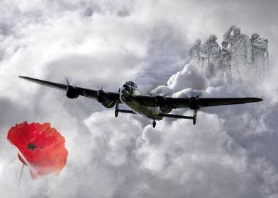 A tribute to Bomber Command and all the brave men who m ...