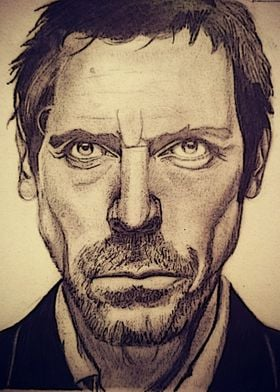 Hand drawn Gregory House