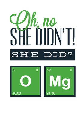 Fun with chemistry.